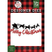 Echo Park - A Lumberjack Christmas Collection - Designer Dies - Christmas Sleigh