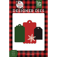 Echo Park - A Lumberjack Christmas Collection - Designer Dies - Holiday Gift Tags