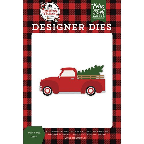 Echo Park - A Lumberjack Christmas Collection - Designer Dies - Truck and Tree