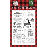 Echo Park - A Lumberjack Christmas Collection - Clear Photopolymer Stamps - Cookies for Santa