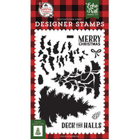 Echo Park - A Lumberjack Christmas Collection - Clear Photopolymer Stamps - Layered Pine Tree
