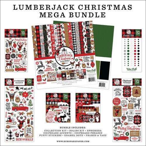 Echo Park - A Lumberjack Christmas Collection - Mega Bundle