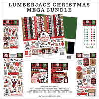 Echo Park - A Lumberjack Christmas Collection - Mega Bundle