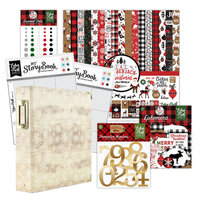 Echo Park - A Lumberjack Christmas Collection - December Days - 6x8 Album Kit - 180 Piece Bundle