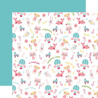 Echo Park - All Girl Collection - 12 x 12 Double Sided Paper - Imagination