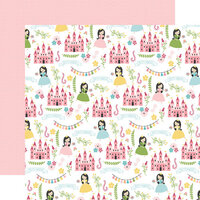 Echo Park - All Girl Collection - 12 x 12 Double Sided Paper - Pretty Princess
