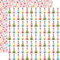 Echo Park - All Girl Collection - 12 x 12 Double Sided Paper - Teepee Trails