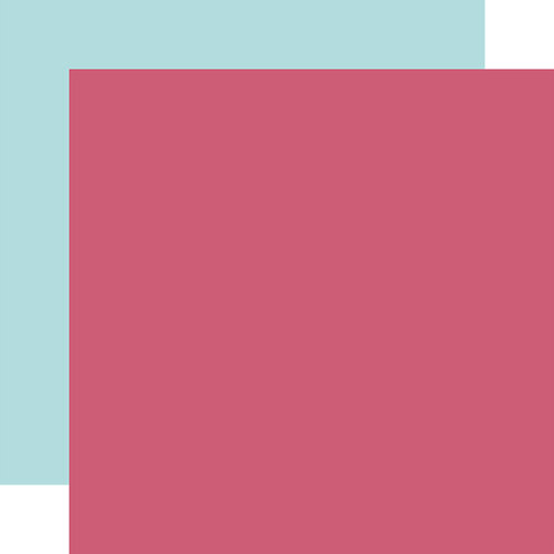 Echo Park - All Girl Collection - 12 x 12 Double Side Paper - Dark Pink