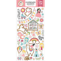 Echo Park - All Girl Collection - Chipboard Stickers - Accents