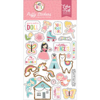 Echo Park - All Girl Collection - Puffy Stickers