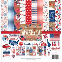 Echo Park - America Collection - 12 x 12 Collection Kit