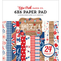 Echo Park - America Collection - 6 x 6 Paper Pad