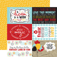 Echo Park - A Magical Place Collection - 12 x 12 Double Sided Paper - 6 x 4 Journaling Cards