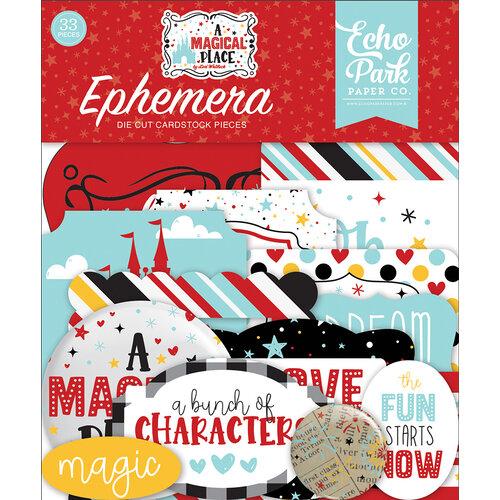 Echo Park - A Magical Place Collection - Ephemera