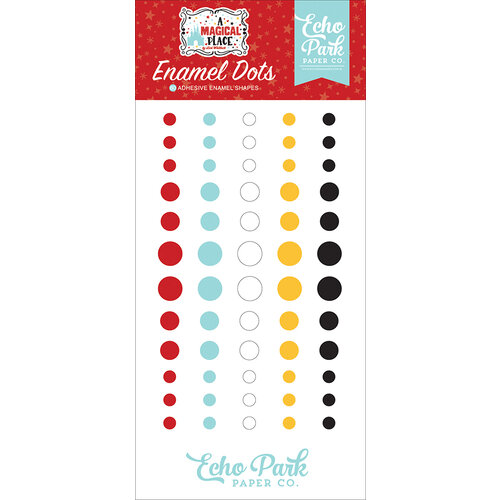 Echo Park - A Magical Place Collection - Enamel Dots