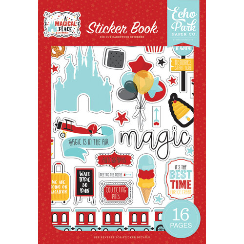Echo Park - A Magical Place Collection - Cardstock Sticker Book