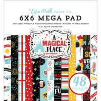 Echo Park - A Magical Place Collection - 6 x 6 Mega Paper Pad