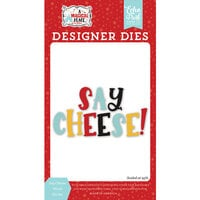 Echo Park - A Magical Place Collection - Designer Dies - Say Cheese Word