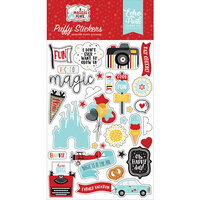 Echo Park - A Magical Place Collection - Puffy Stickers
