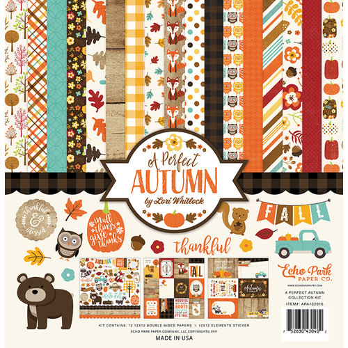 Echo Park - A Perfect Autumn Collection - 12 x 12 Collection Kit