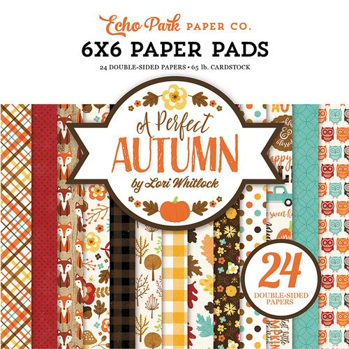 Echo Park - A Perfect Autumn Collection - 6 x 6 Paper Pad
