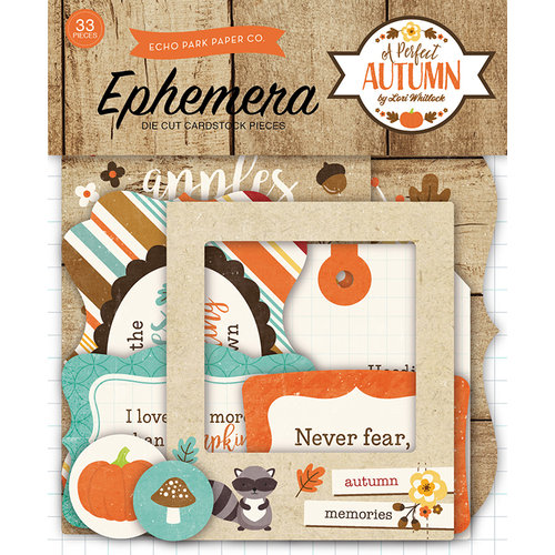 Echo Park - A Perfect Autumn Collection - Ephemera