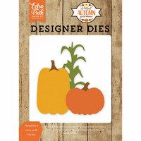 Echo Park - A Perfect Autumn Collection - Designer Dies - Pumpkins and Corn Stalk