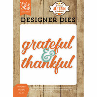 Echo Park - A Perfect Autumn Collection - Designer Dies - Grateful and Thankful