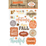 Echo Park - A Perfect Autumn Collection - Enamel Words and Phrases