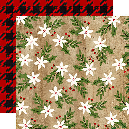 Echo Park - A Perfect Christmas Collection - 12 x 12 Double Sided Paper - Merry Mistletoe