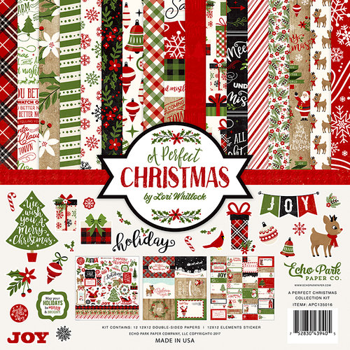 Echo Park Paper A Perfect Christmas Collection Kit
