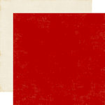 Echo Park - A Perfect Christmas Collection - 12 x 12 Double Sided Paper - Red
