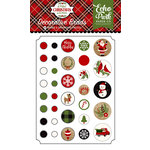 Echo Park - A Perfect Christmas Collection - Decorative Brads