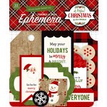 Echo Park - A Perfect Christmas Collection - Ephemera - Frames and Tags