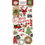 Echo Park - A Perfect Christmas Collection - Chipboard Stickers