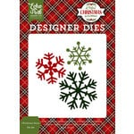 Echo Park - A Perfect Christmas Collection - Designer Dies - Christmas Snow