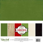 Echo Park - A Perfect Christmas Collection - 12 x 12 Paper Pack - Solids