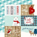 Echo Park - A Perfect Winter Collection - 12 x 12 Double Sided Paper - 4 x 6 Journaling Cards