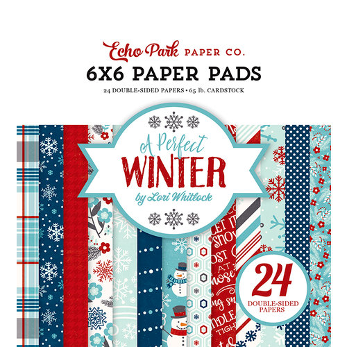 Echo Park - A Perfect Winter Collection - 6 x 6 Paper Pad