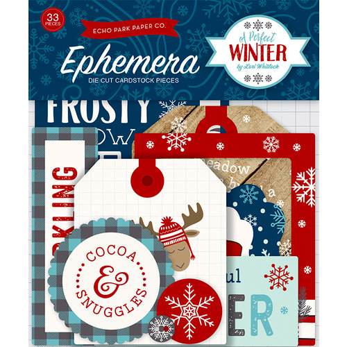 Echo Park - A Perfect Winter Collection - Ephemera