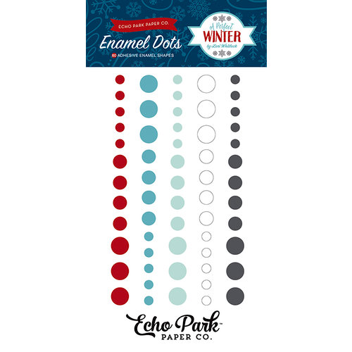 Echo Park - A Perfect Winter Collection - Enamel Dots