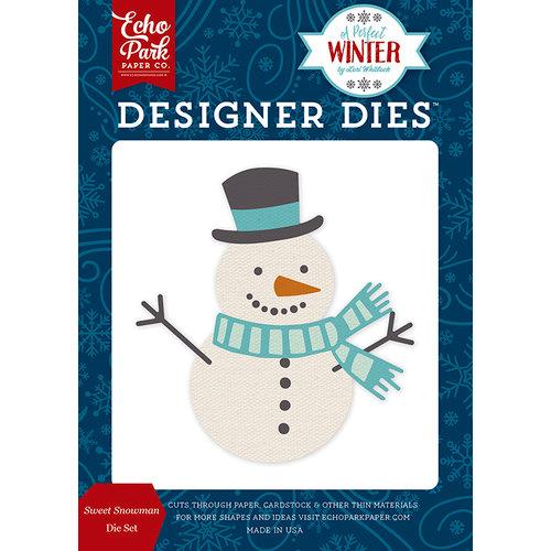 Echo Park - A Perfect Winter Collection - Designer Dies - Sweet Snowman