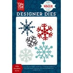 Echo Park - A Perfect Winter Collection - Designer Dies - Chilly Snowflakes