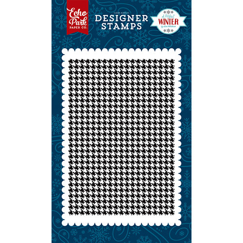 Echo Park - A Perfect Winter Collection - Clear Photopolymer Stamps - Winter Scarf