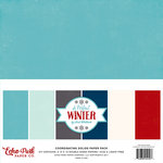 Echo Park - A Perfect Winter Collection - 12 x 12 Paper Pack - Solids