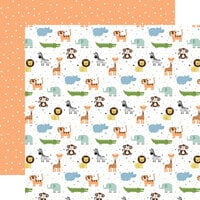 Echo Park - Baby Boy Collection - 12 x 12 Double Sided Paper - Bundle of Joy