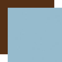 Echo Park - Baby Boy Collection - 12 x 12 Double Sided Paper - Light Blue