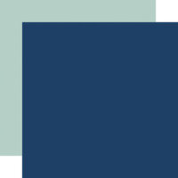 Echo Park - Baby Boy Collection - 12 x 12 Double Sided Paper - Blue