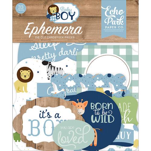 Echo Park - Baby Boy Collection - Ephemera