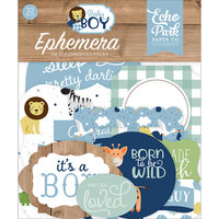 Echo Park - Baby Boy Collection - Ephemera